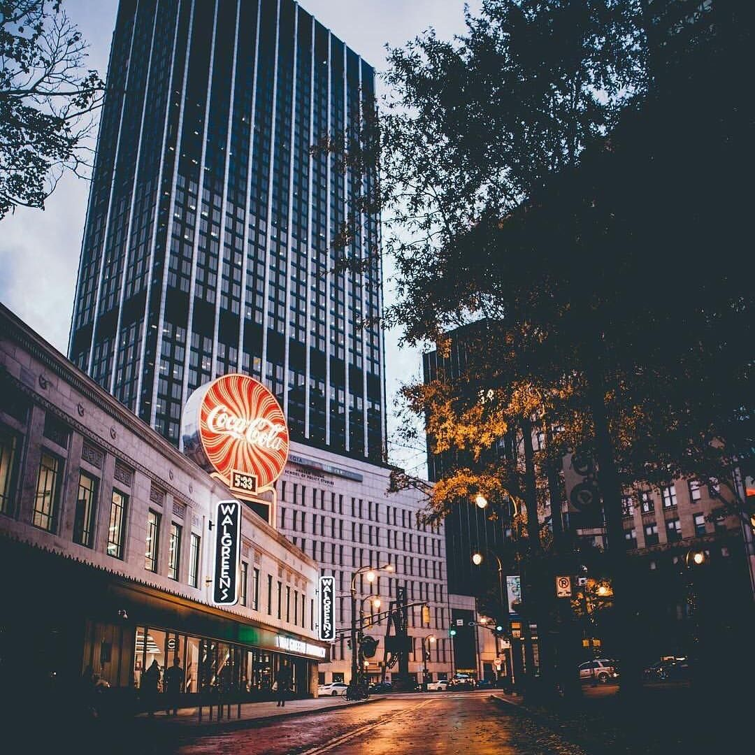 Downtown Atlanta Has Lots Of Great Spots For That