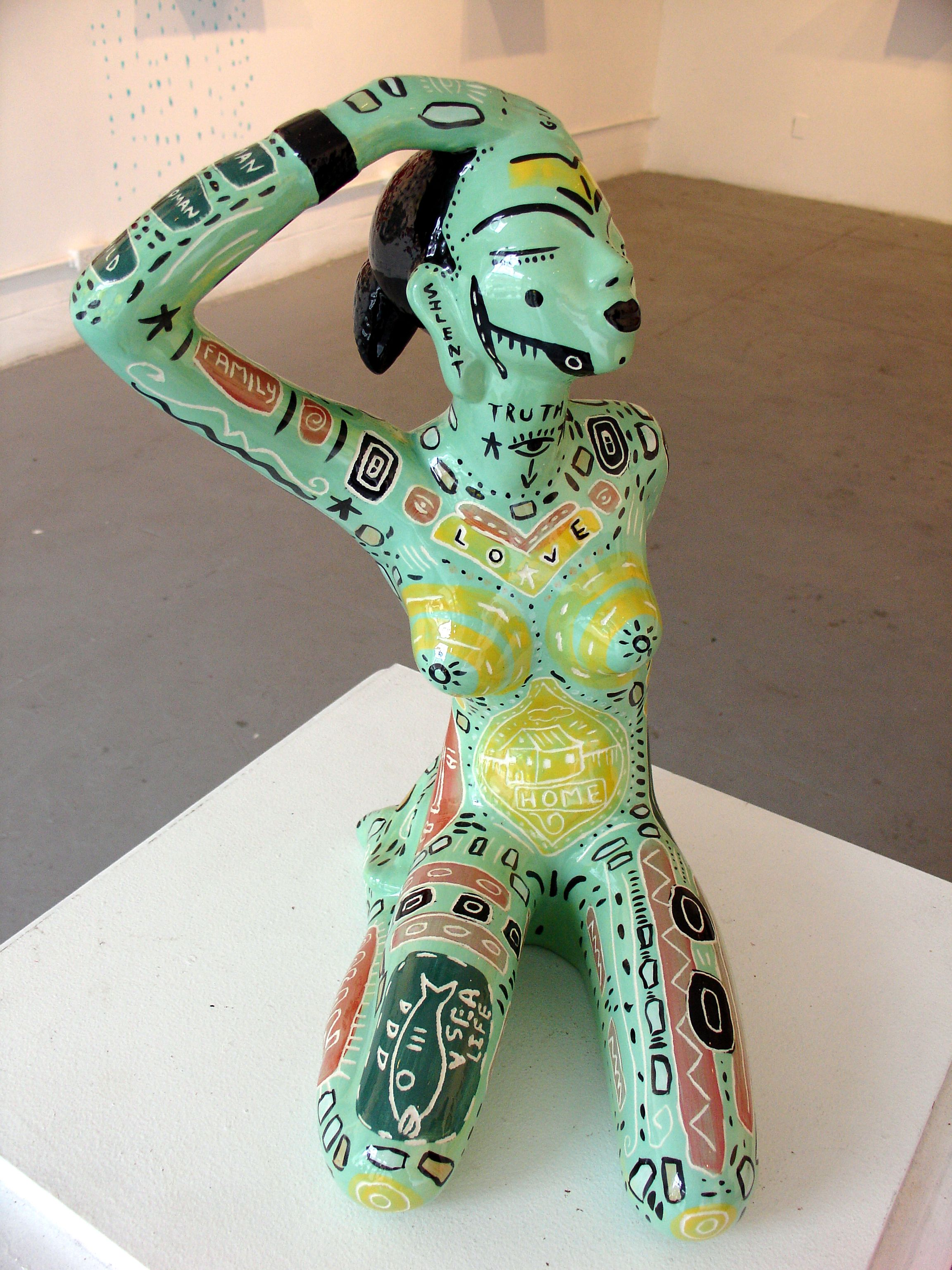 Ceramic Statue. John Michael Gill