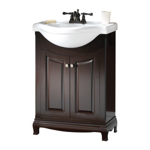 Foremost PAEA2534 Palermo Euro Bath Vanity with China Top by