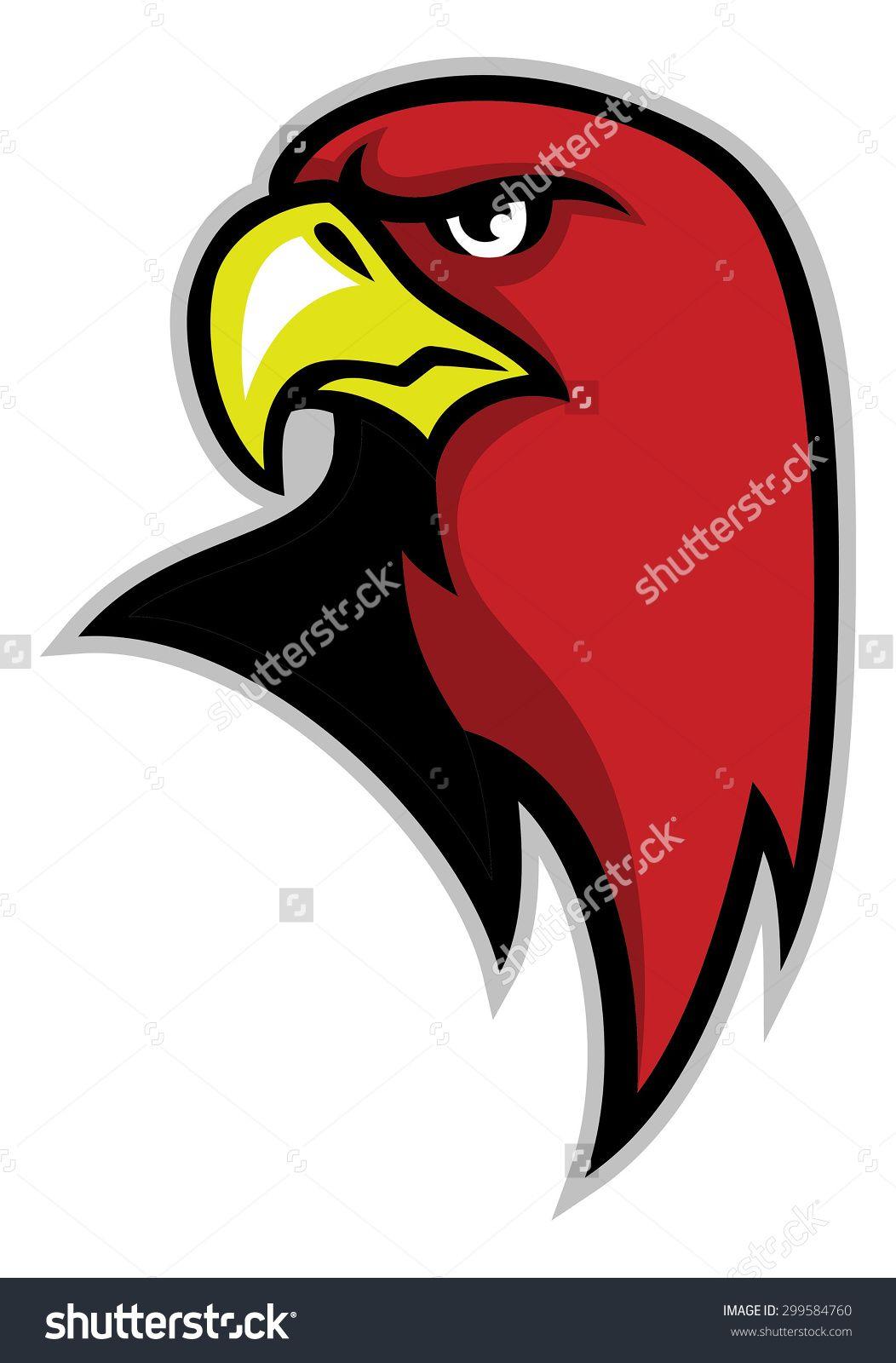 Eagle Head Mascot Stock Vector Illustration 299584760