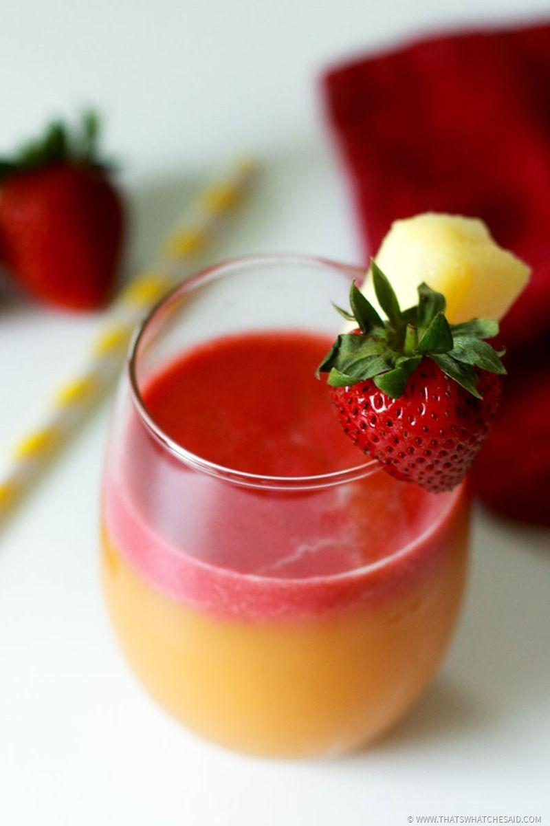 Pineapple strawberry margarita recipe pineapple