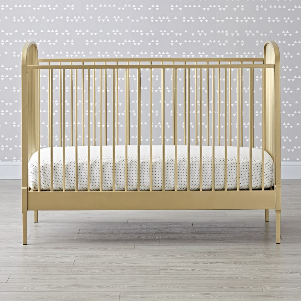 Larkin Gold Crib | Crib, Nursery and Babies