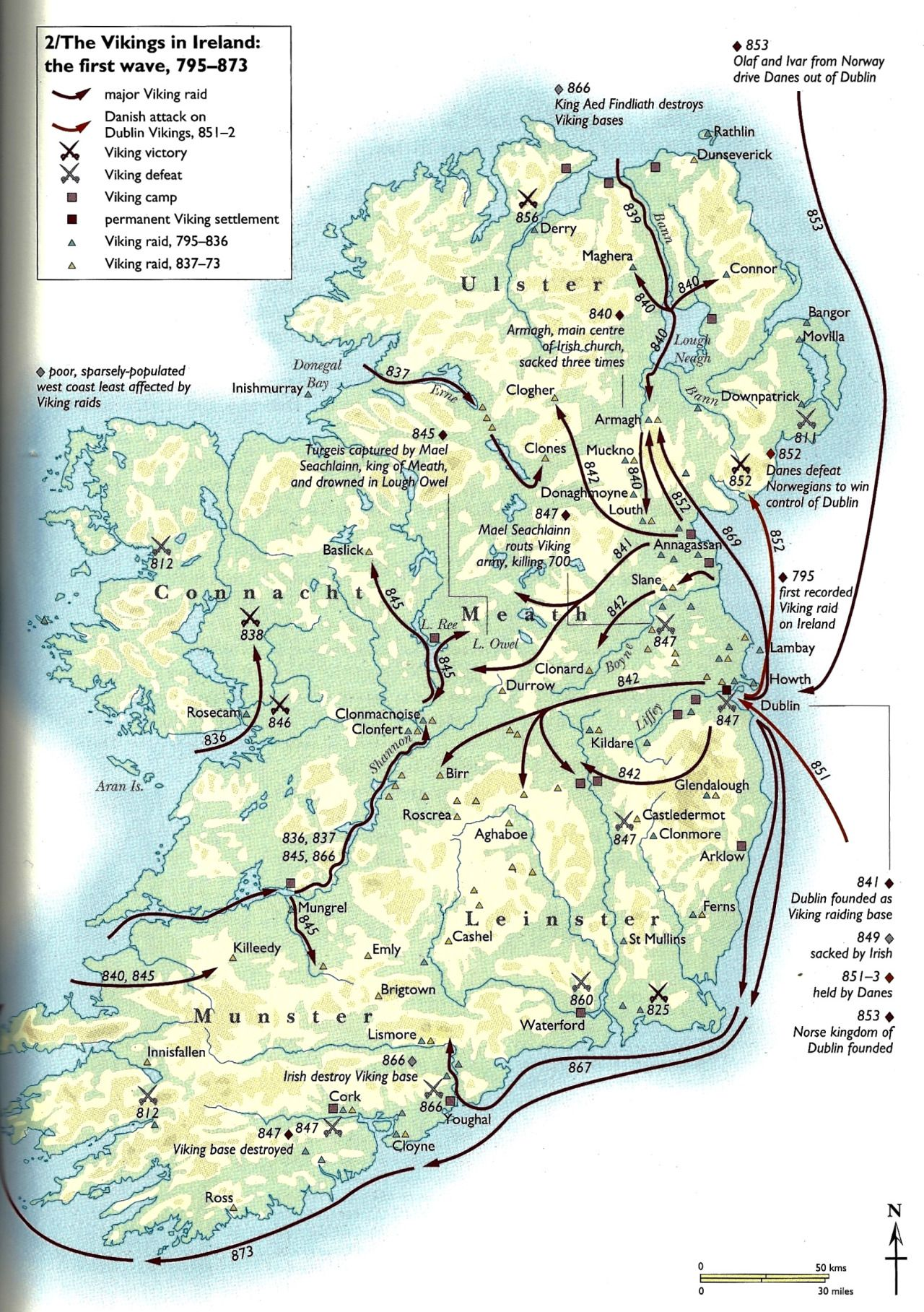 Fjorn The Skald The Vikings In Ireland The First Wave