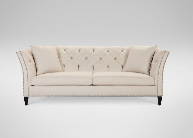 Ethan Allen Shelton Sofa Or Should We Call It Showstopper