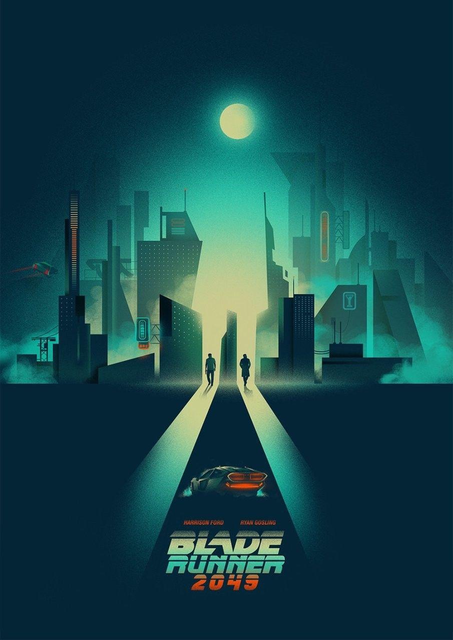 Blade Runner 2049 Blade Runner Poster Blade Runner Movie Posters Minimalist