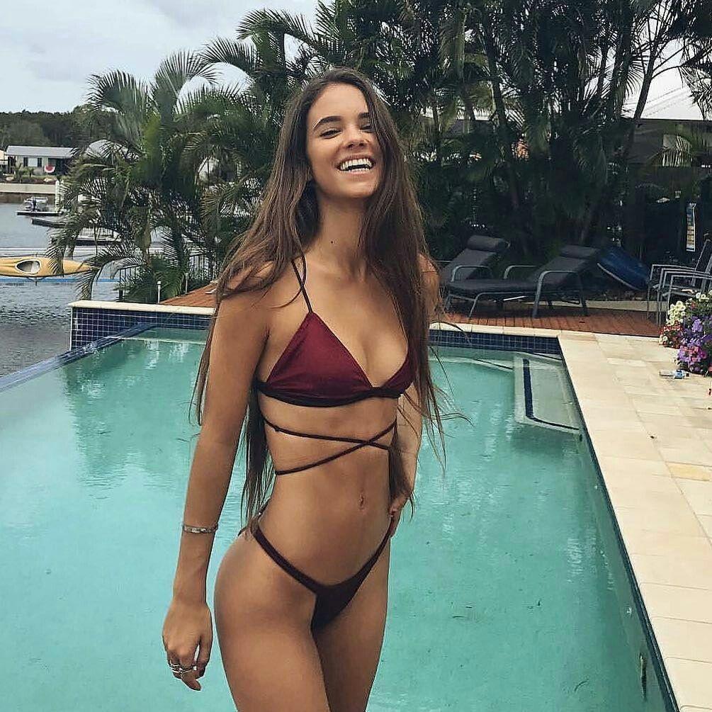 Elisha herbert billbo in pinterest bikinis swimsuits and