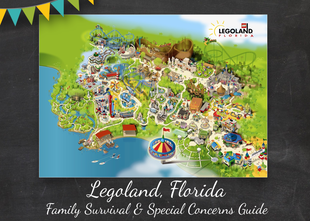 Legoland Florida Family Travel Tips Guide & Special Needs Concerns. Autism Travel Food Allergies