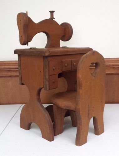 Super Details About Handmade Miniature Wooden Sewing Machine And Andrewgaddart Wooden Chair Designs For Living Room Andrewgaddartcom