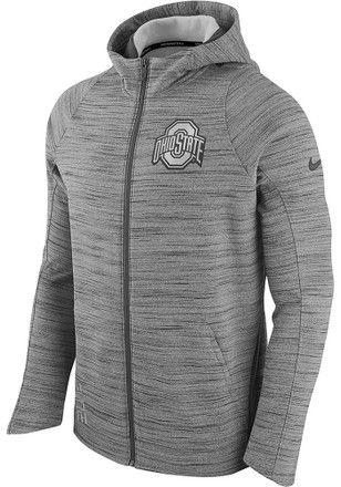 Elite Fan Shop NCAA Mens Tri Blend Hoodie Gray Retro