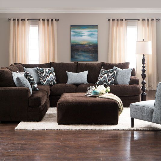 Sectional Sofas At Jeromes: Mattress Technology Built Right Into