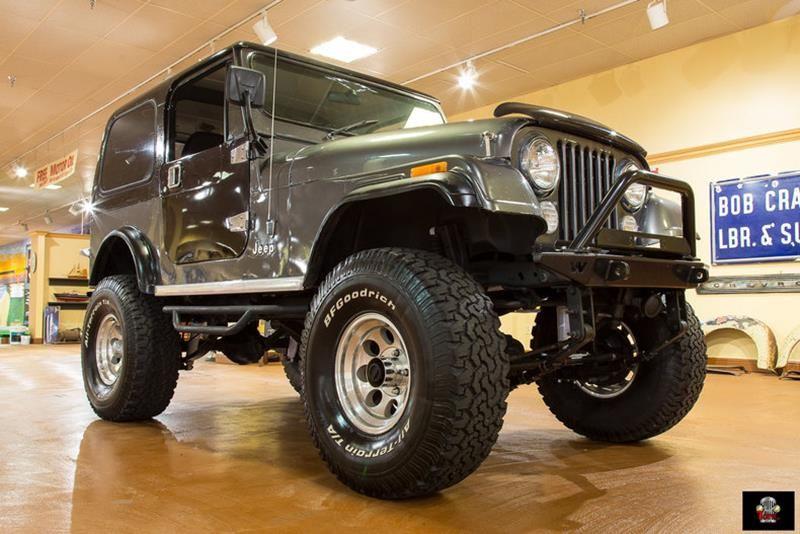 1986 Jeep Cj 7 For Sale In Orlando Fl Jeep Cj Jeep Corvette Summer