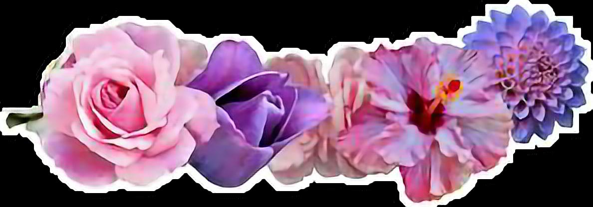 Ftestickers Flowers Flowercrown Flower Crown Tumblr Tumblr Flower Transparent Flowers