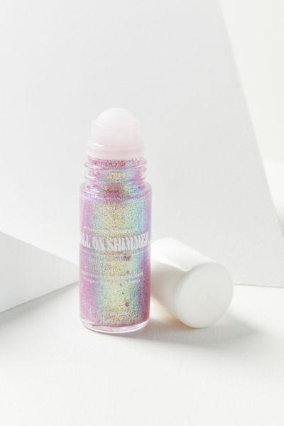 Lavender Stardust Roll On Shimmer Body Glitter | h a i r