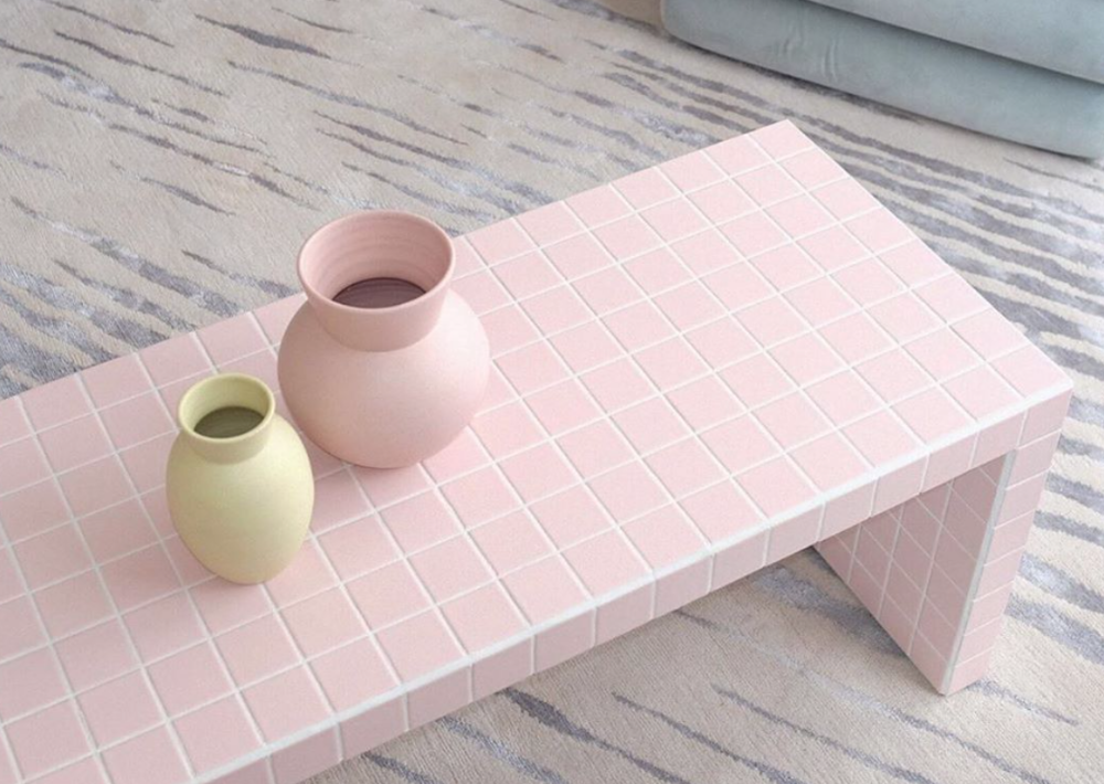 Ikon Kobenhavn Coffee Table Tile Furniture Pastel House Tile Tables