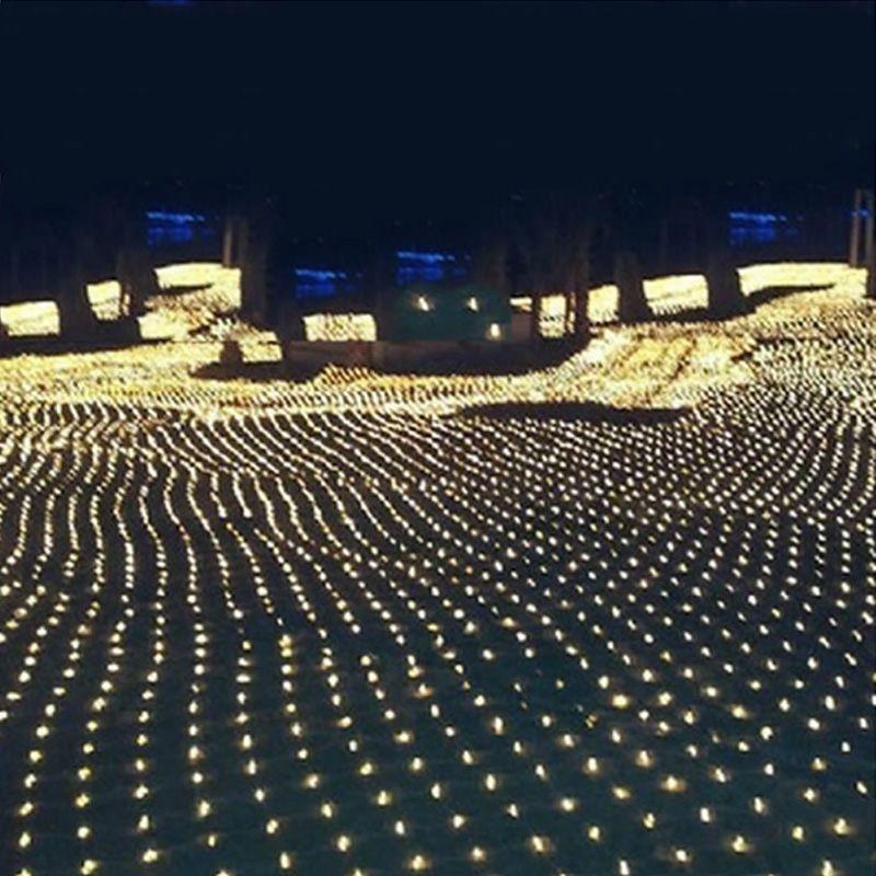 LED String light 3m 2M display modes 220V net string light Christmas
