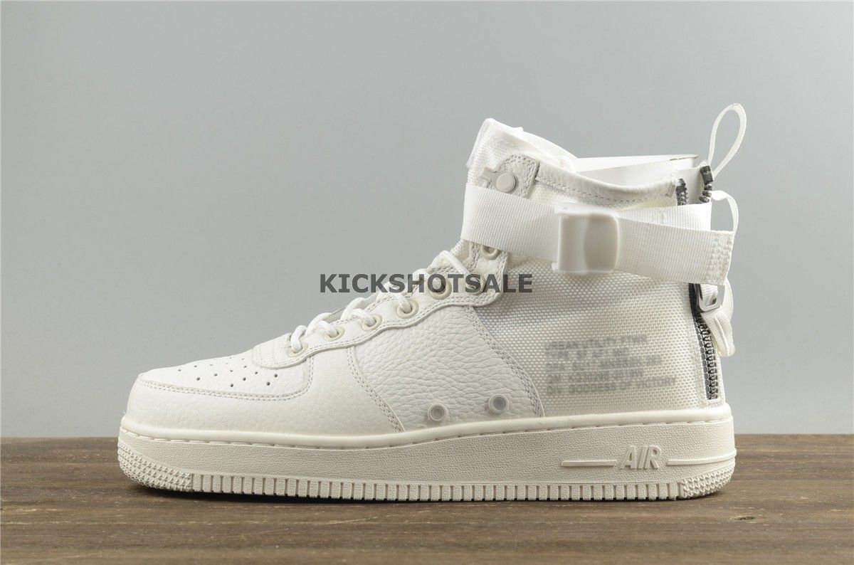 80fb654a5763a3 Nike Special Field Air Force 1 Mid  Triple Ivory  AA6655 100