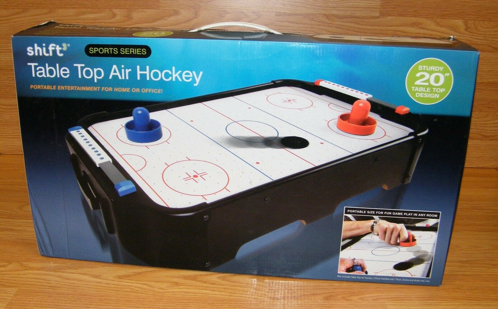 Shift3 Sports Series Sturdy 20 Portable Table Top Air Hockey Game New 23 16 Air Hockey Table Ideas Of Air Ho Air Hockey Table Air Hockey Air Hockey Games