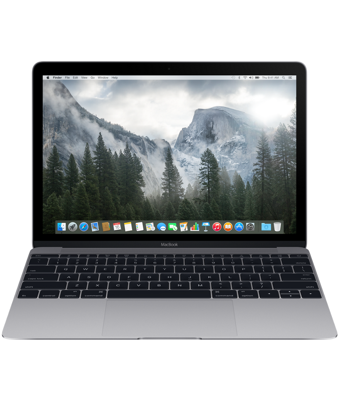 Apple MacBook. I am hoping 2016 brings the new Intel