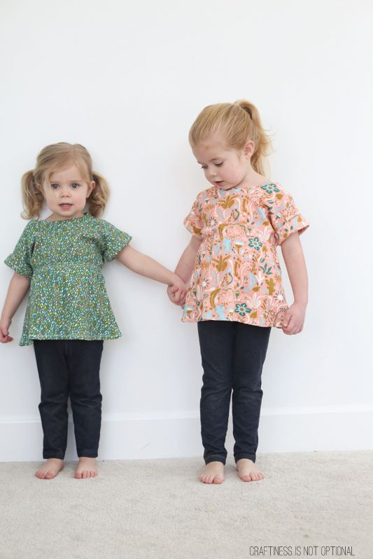 scrunch top free pattern and tutorial for birch fabrics ...