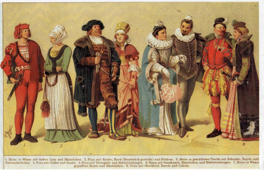 Image Result For 16th Century German Clothing Antique Clothing