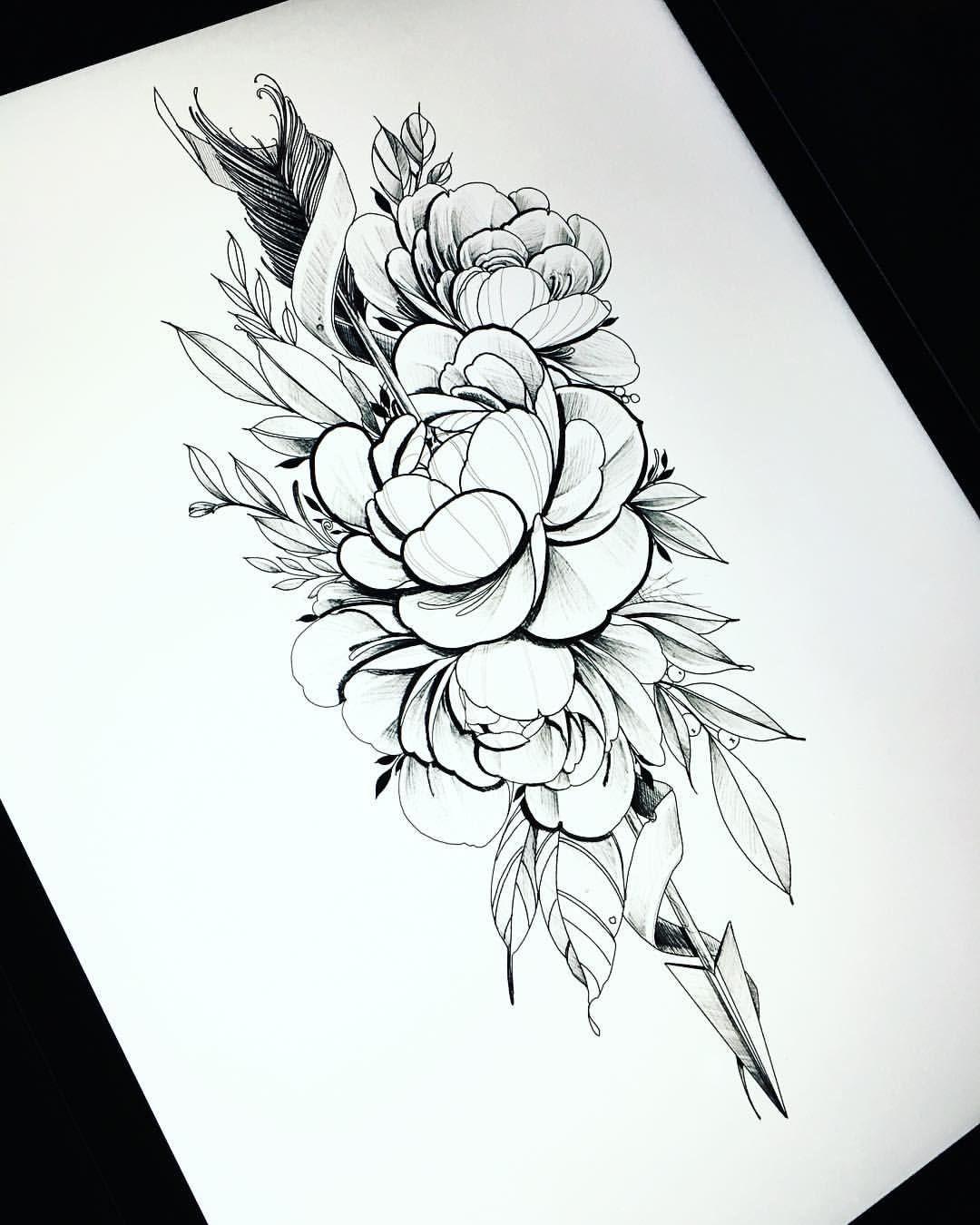 новости женские эскизы эскиз тату татуировка розы и татуировка
