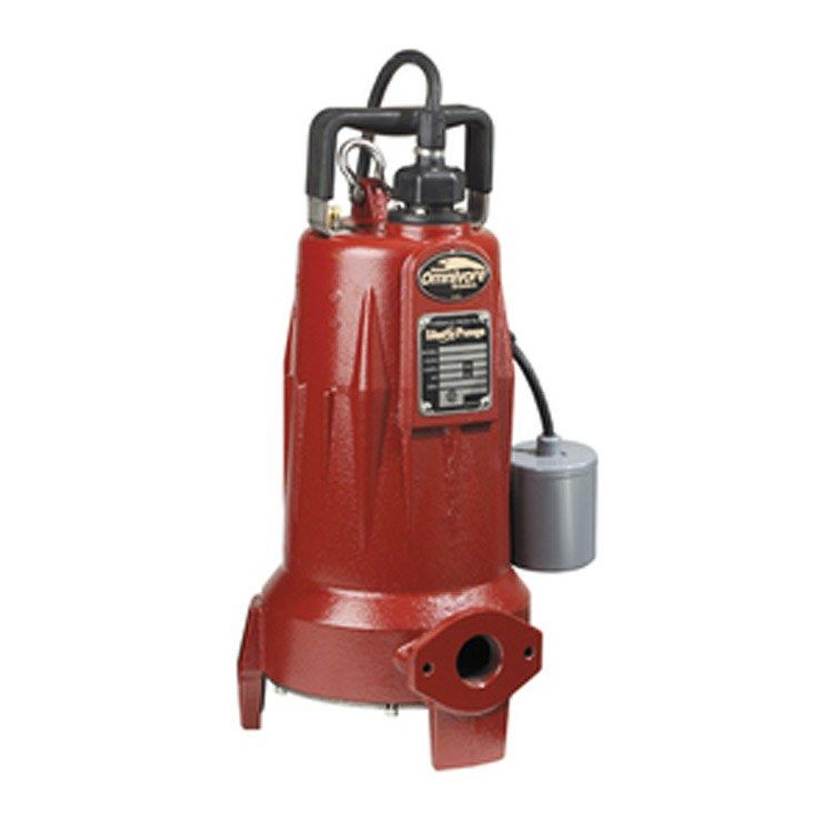 Liberty Lsg202a 2 Hp Omnivore Automatic Submersible Grinder Pump Sewage Pump Pumps Stainless Steel Fasteners
