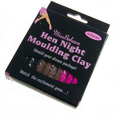 Hen Night Party Moulding Clay Plasticine Play Doh