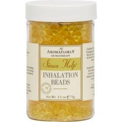 Sinus Help Inhalation Beads 2.5 oz Blend Of Eucalyptus, Peppermint, Lemongrass by Aromafloria