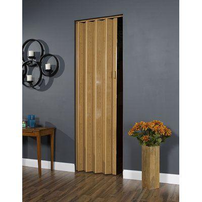 Ltl Accordion Doors Homestyle Vinyl Accordion Interior Door Color Pecan Accordion Doors Folding Doors House Styles
