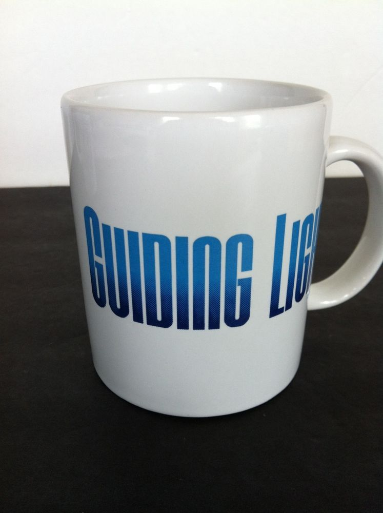 Guiding Light Soap Opera Coffee Mug Cup 1991 P G Vintage Free Shipping