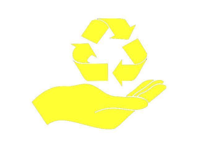 QAA HAND-RECYCLE DECAL
