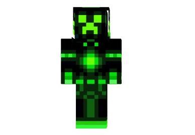 Green Neon Creeper Skin Minecraft Skins Minecraft Skins Creeper Minecraft Skins Minecraft