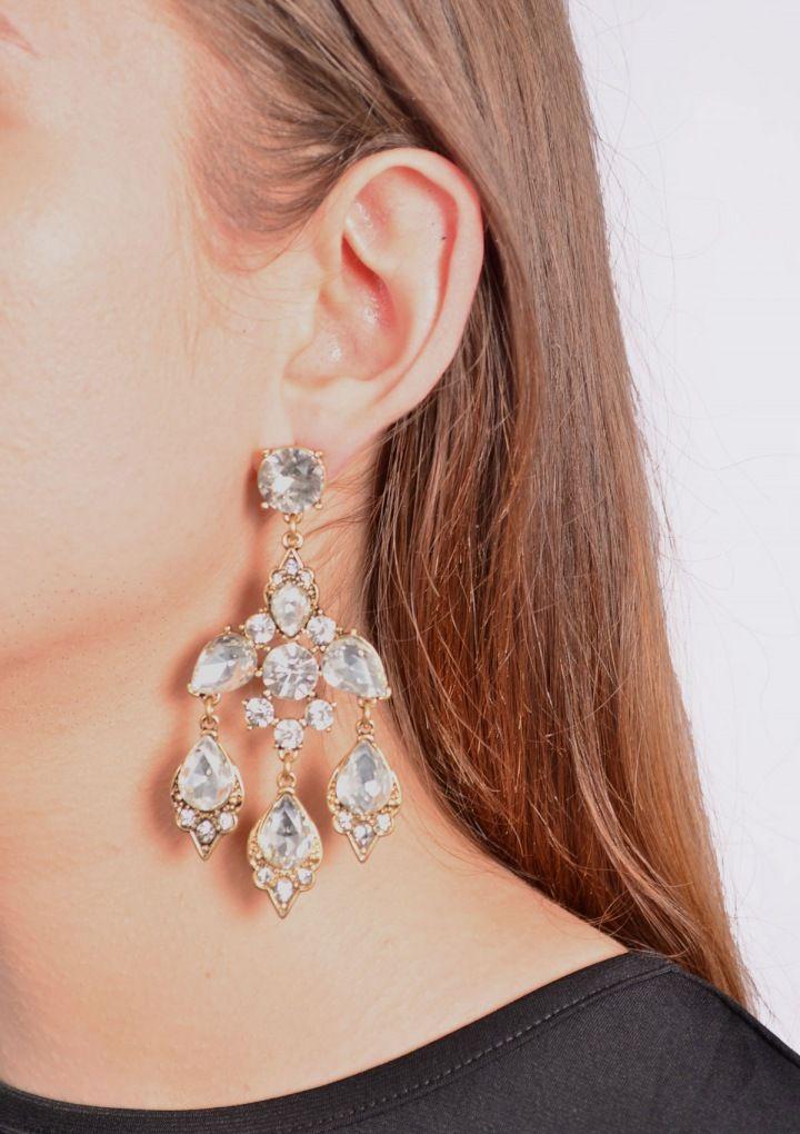 Elegant Chandelier Style Statement Earrings 17,90€ #happinessbtq