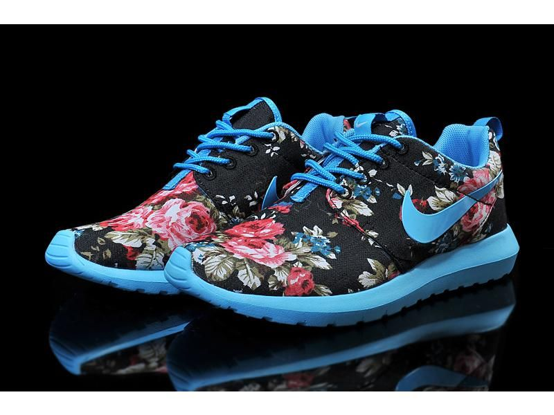 ... Lightning Shoes-Nike Woman's Roshe Run Print London Olympics