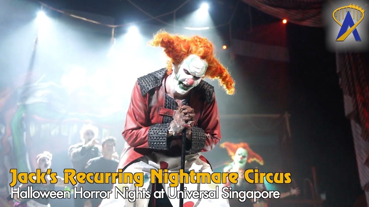 Jack's Recurring Nightmare Circus at Universal Singapore's