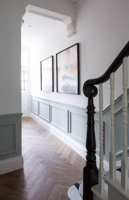 Half Wall Wood Paneling: New Basement Stairs Railing Half Walls Ideas In 2020