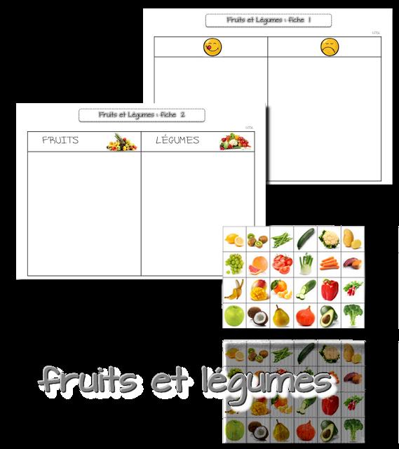 Célèbre La maternelle de Laurène: Semaine du goût : les fruits et légumes  NR46