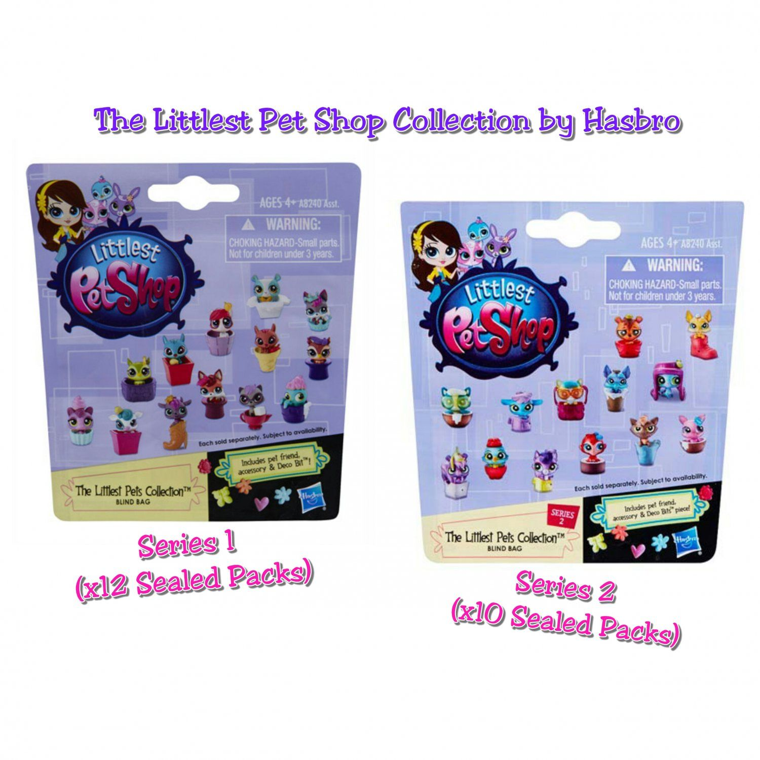 Lot Of 23 Littlest Pet Shop The Littlest Pets Collection Mystery Blind Bag Series 1 2 By Hasbro Sealed Packs Littlest Pet Shop Pet Shop Little Pets
