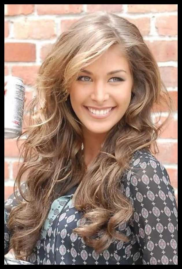 Light Brown Hair Color Women With Warm Skin Tones Can Wear The