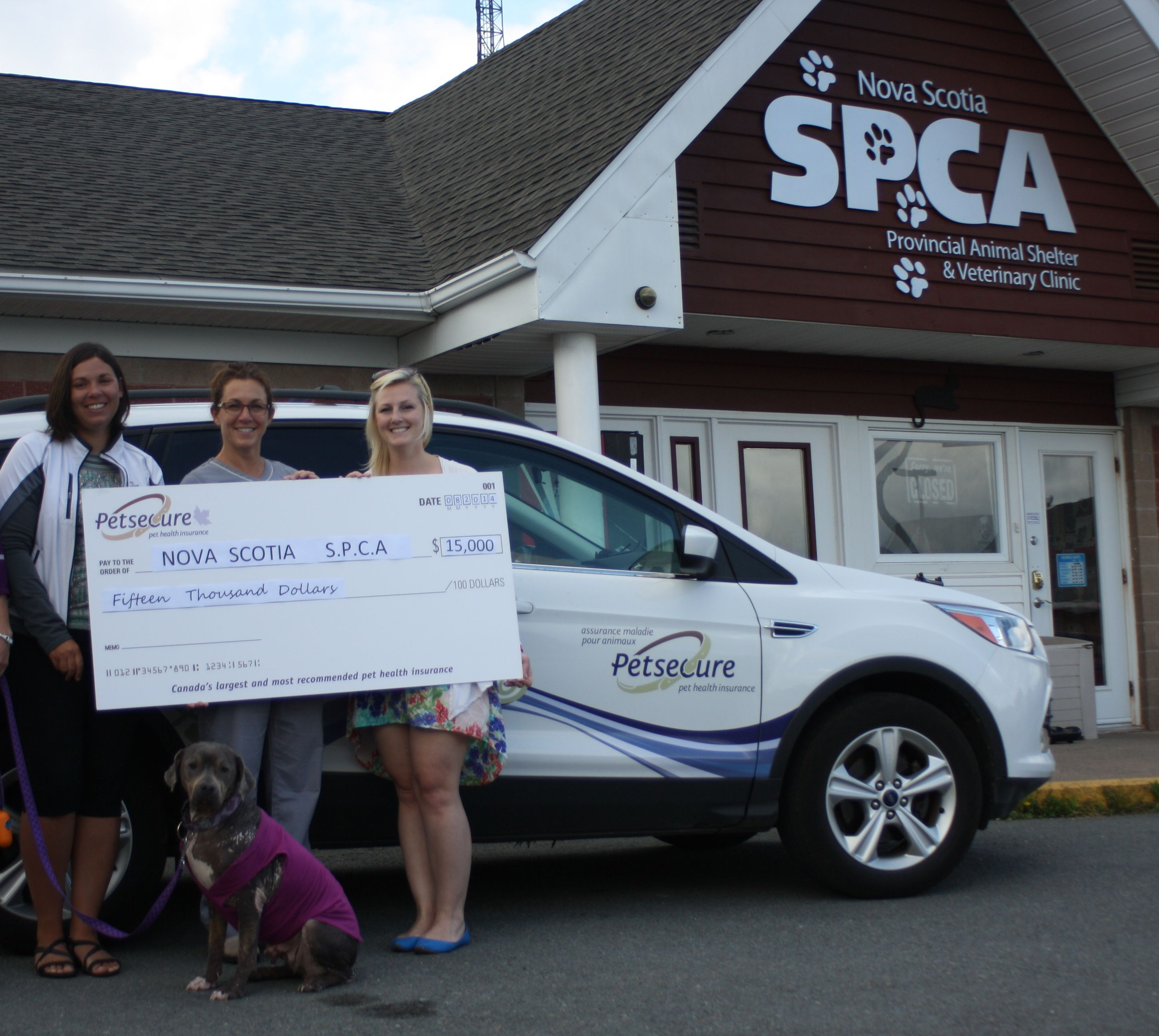 A big donation to a longtime shelter partner Pet health