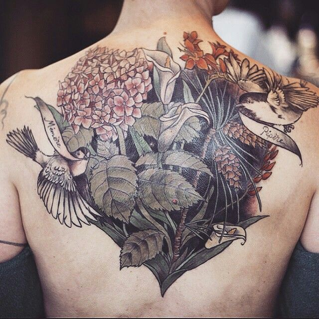 Beautiful Botanical Tattoos By Salem Witch Descendant: Tattoo By @alicerules (instagram)