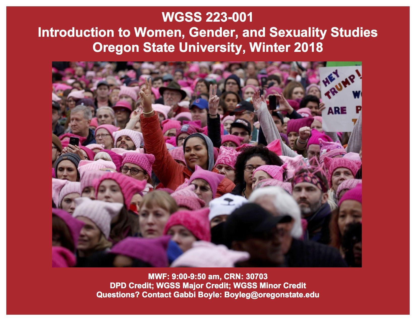 sexuality studies major osu