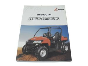Details about HS800 UTV service manual HISUN 348 Pages + ... on