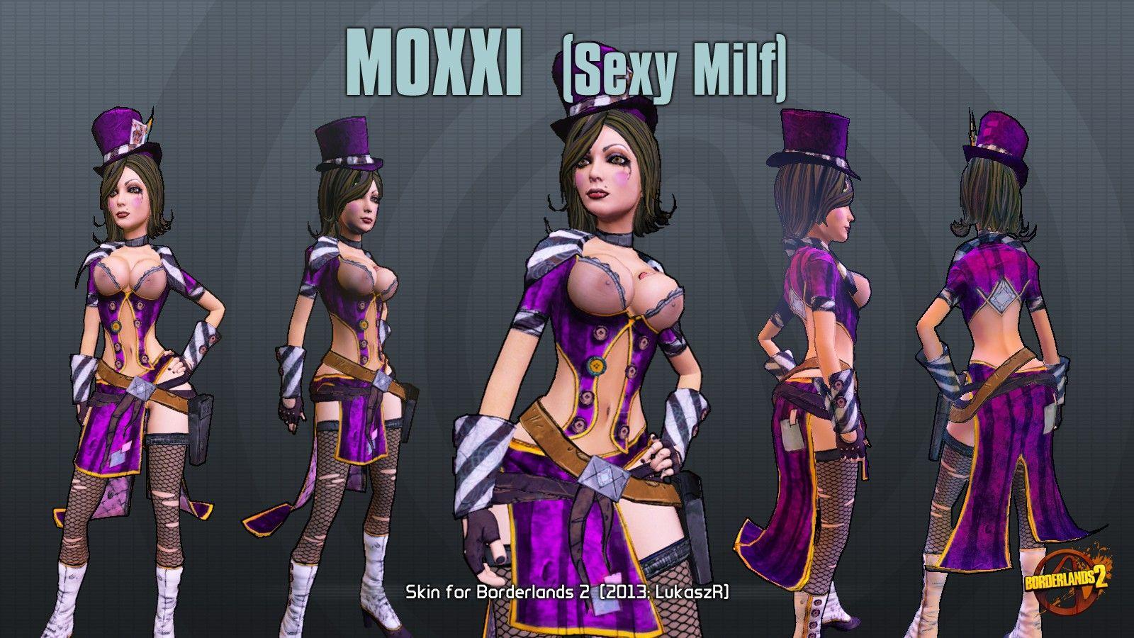 pazzo Moxxi porno fumetto