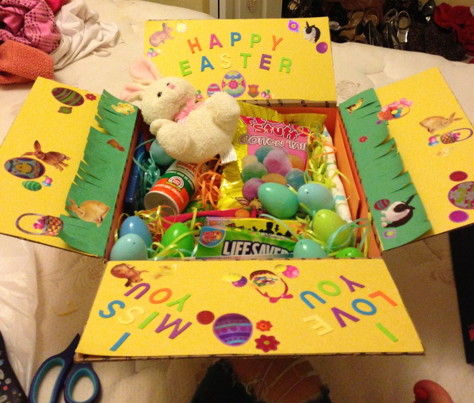 Easter care package i made my boyfriend in the navy diy easter care package i made my boyfriend in the navy negle Gallery