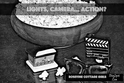 Movie, Video, Popcorn, Lights, Camera, Action, Review Rosevine Cottage Girls: Lights, Camera... Action? #2 Photo by Rosevine Cottage Girls