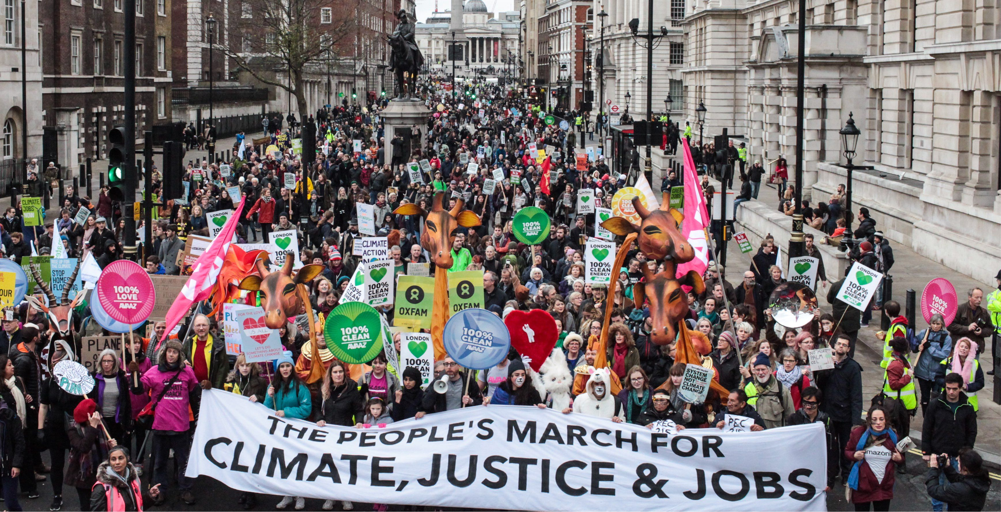 Largest Climate Mobilisation In History Climates History Alternative Energy Sources