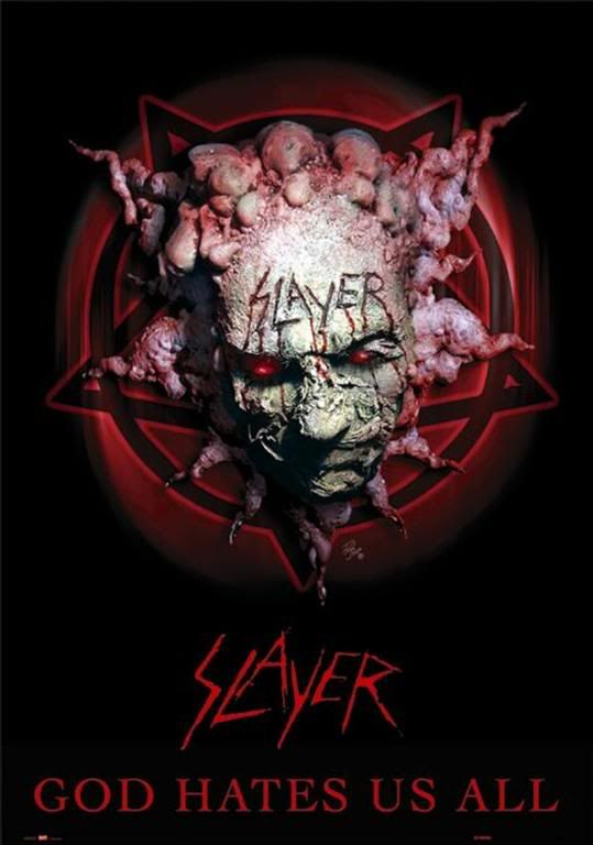 Slayer God Hates Us All : slayer, hates, Slayer, Hates, Metal, Bands,, Band,