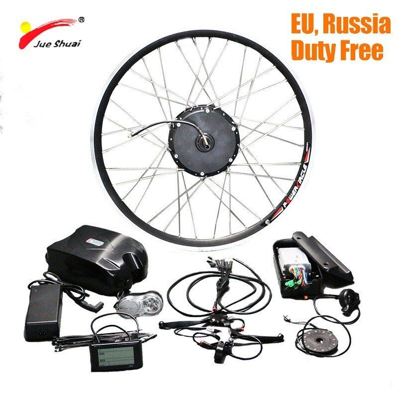 Jueshuai Folding Electric Bike Conversion Kit With Lithium Battery