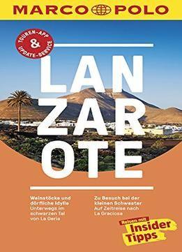 Marco Polo ReisefÃhrer Lanzarote Reisen Mit Insidertipps
